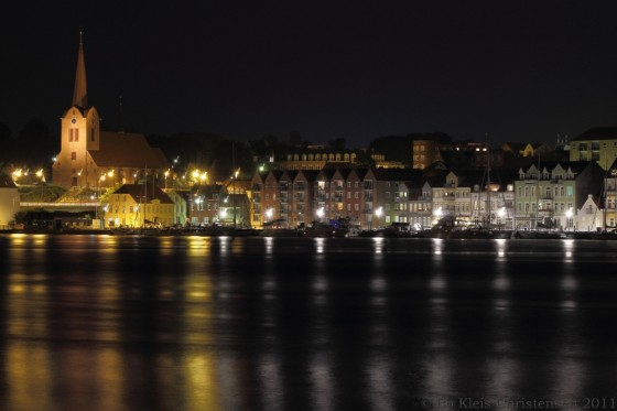 sønderborg by night