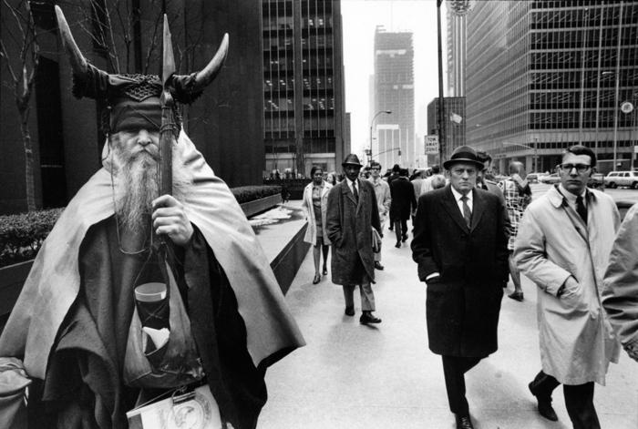 Moondog i NYC