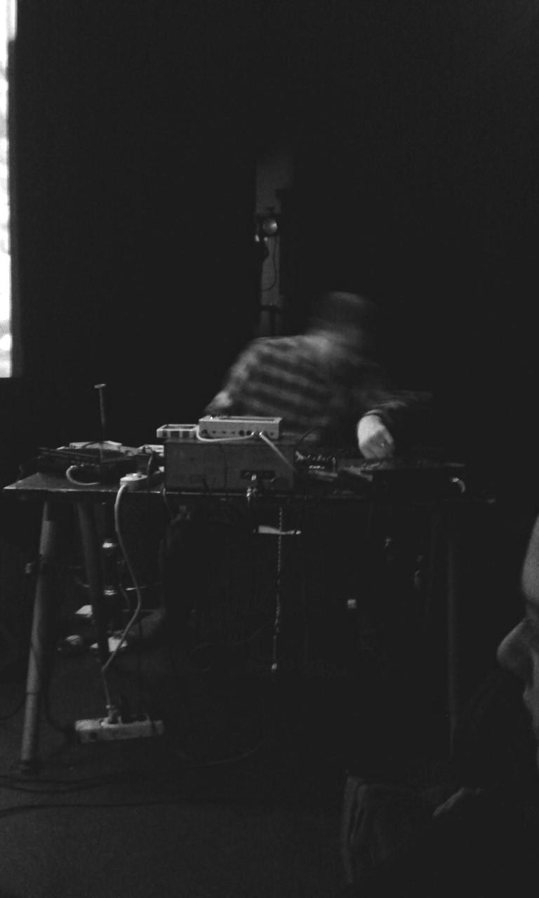Aaron Dilloway (_ Genesis P. Orridge) @ Jazzhouse, den 9. februar